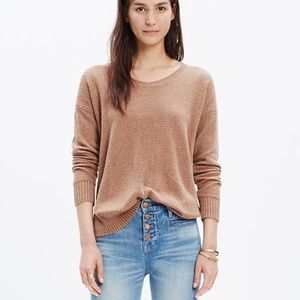 Madewell Chronicle Texture Pullover Sweater Size S